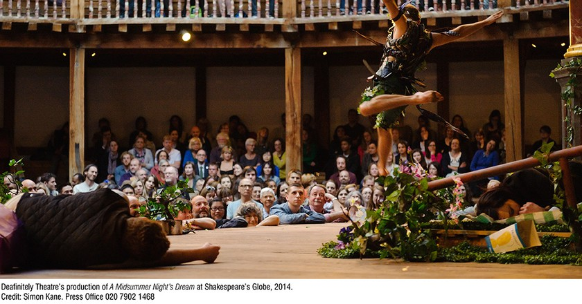 """A Midsummer Night's Dream"" performance shot courtesy of Los Angeles Philharmonic Association"