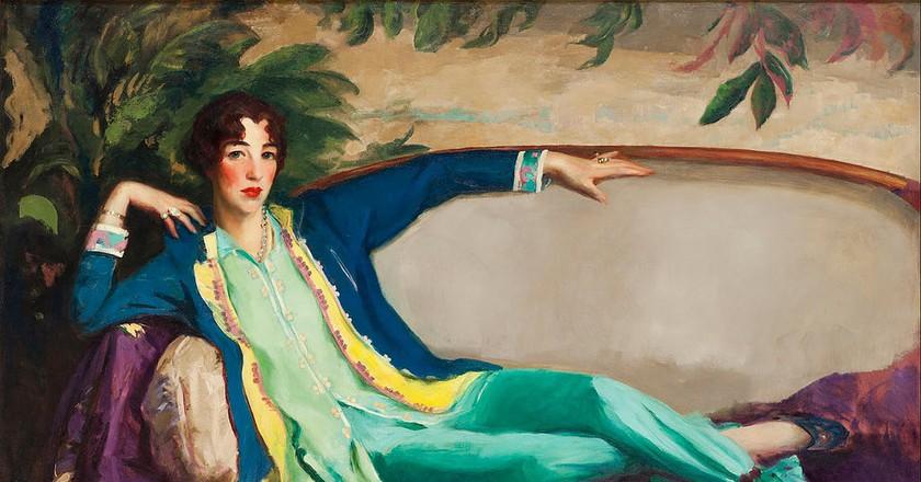 Robert Henri - Gertrude Vanderbilt Whitney - Google Art Project | © Robert Henri/WikiCommons