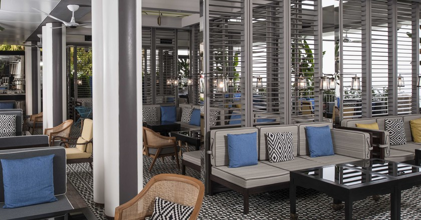 Spago terrace lounge   Courtesy of Marina Bay Sands