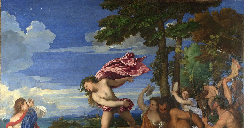 Titian, Bacchus and Ariadne, 1520-23 | © National Gallery/WikiCommons