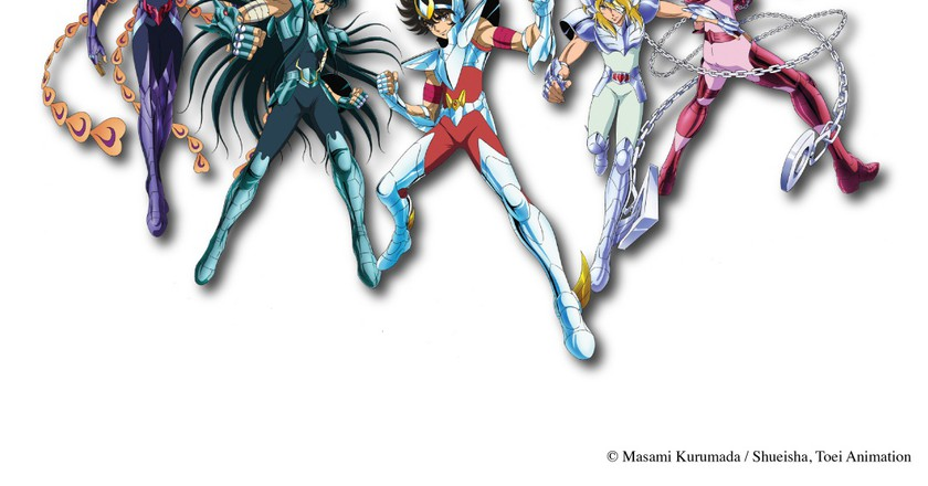© Photo courtesy of Saint Seiya Exhibition / Times Square