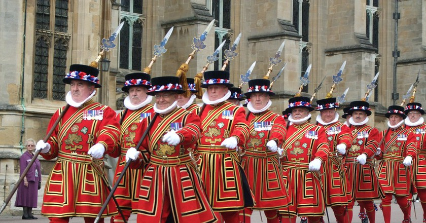 Members of the Yeoman Guard, known as 'Beefeaters'   © Skeeze/Pixabay