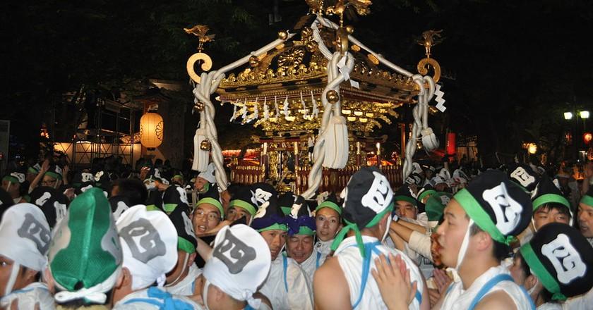 Festival at Okunitama Shrine   © 江戸村のとくぞう/WikiCommons