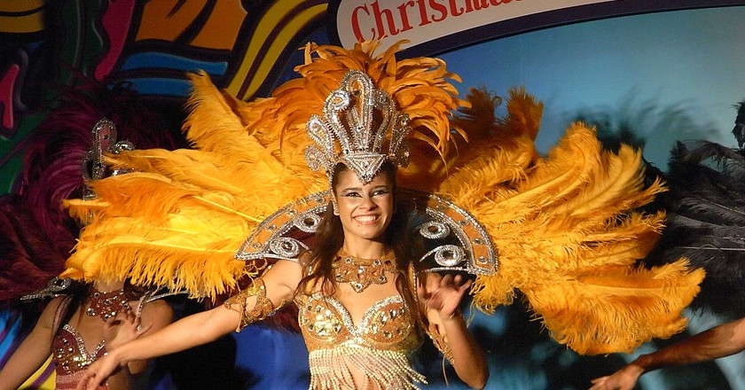 Samba dancer, the most well-known music in Brazil |© PlidaoUrbenia/WikiCommons