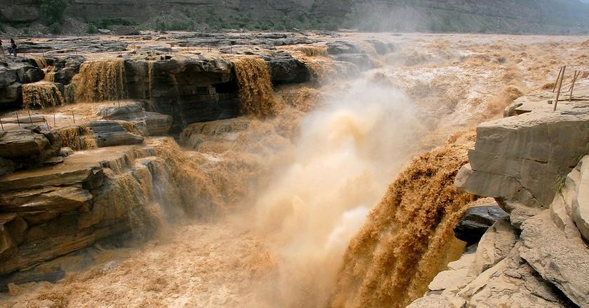 Hukou Waterfall of Yellow River, China | Leruswing/Wikimedia Commons/CC BY-SA 3.0