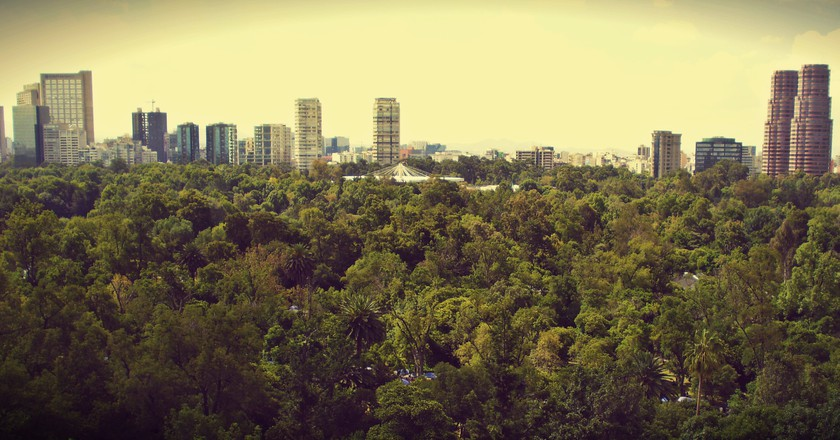 View from Castillo de Chapultepec   © Luis Santiago/Flickr