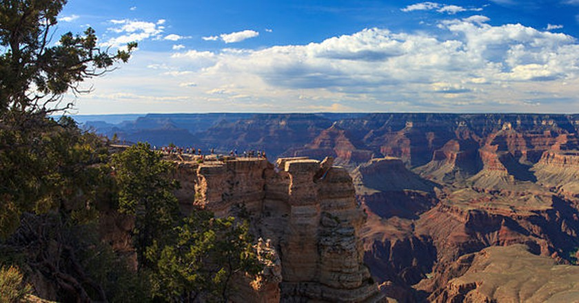 View from the South Rim | © Roger Bolsius/Wikicommons