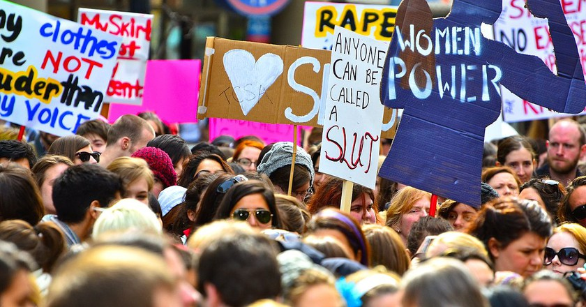 Slutwalk © Anton Bielousov/Wikipedia