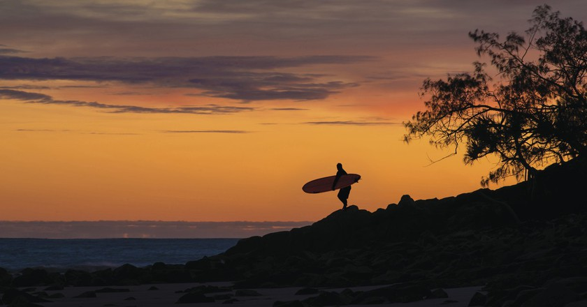 Sunset over Noosa, Qld | Courtesy of Tourism Australia © John Montesi