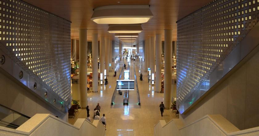 Chhatrapati Shivaji International Airport Terminal 2 interiors   Karthikndr/Flickr