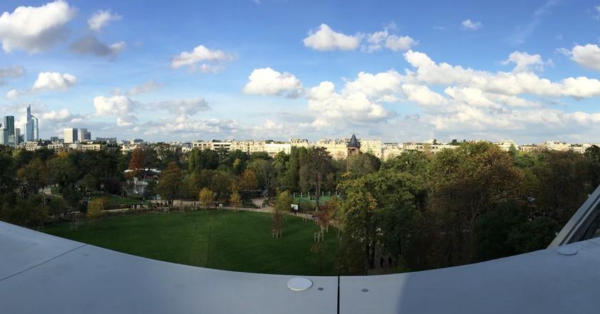 The Bois de Boulogne from the Fondation Louis Vuitton © Yann Caradec/Flickr