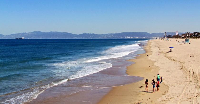 Los Angeles Beach | ©Marika Borkolami/Flickr
