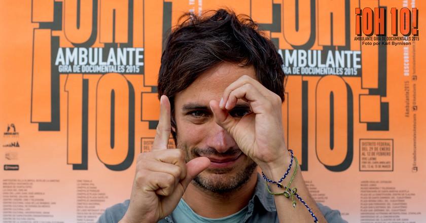Gael García Bernal   © Festival Ambulant/Flickr