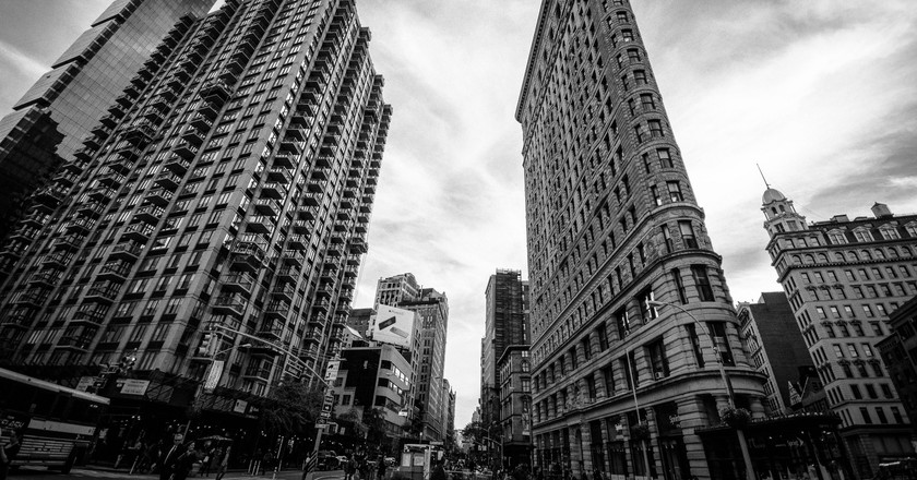 Flat Iron Building - NYC | © Marcela/Flickr