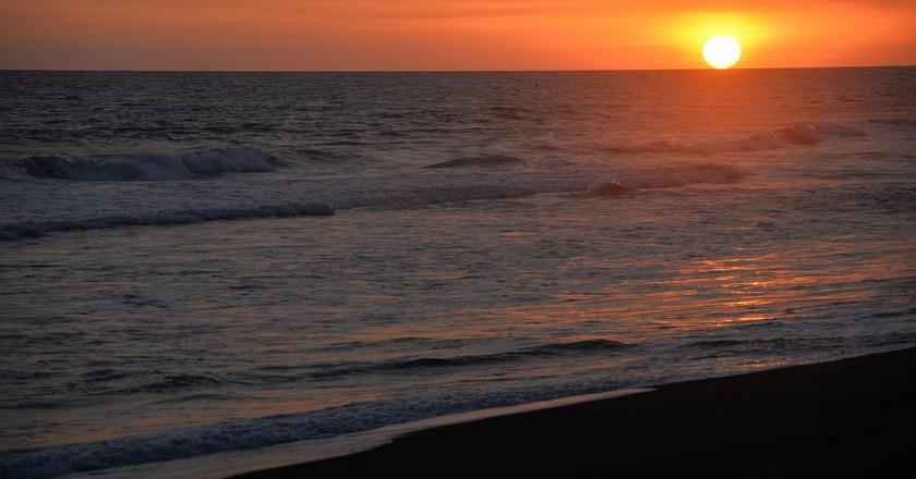 Pacific sunset   © David Amsler/Flickr