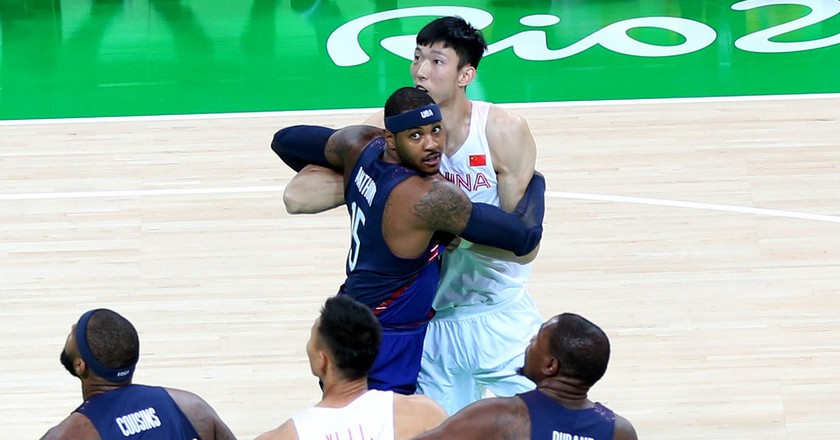 Carmelo Anthony helped Team USA beat China | © Flickr/Andy Miah