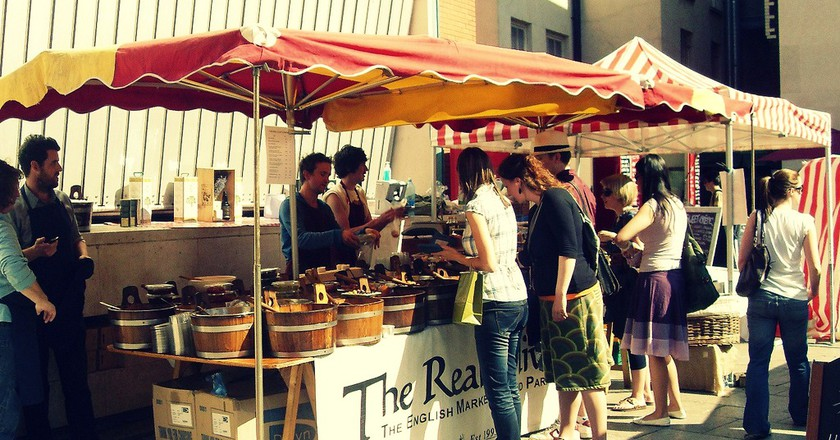 Food Market, Temple Bar | © Barnacles Budget Accommodation