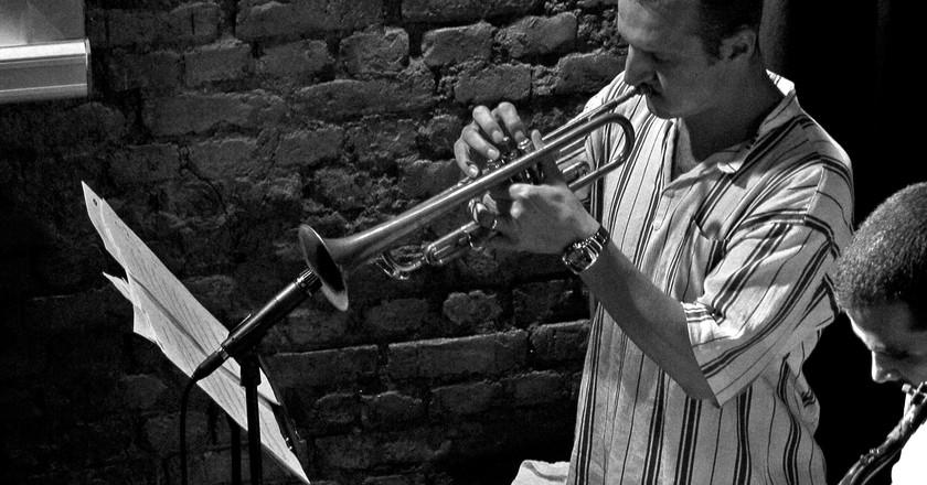 Istanbul - Oct 2008 - Nardis Jazz Club Trumpeter   © Gareth Williams/Flickr
