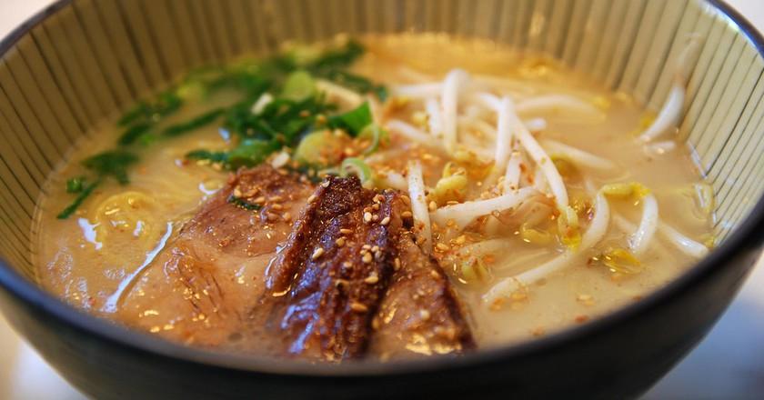 Pork soup ramen   © Alpha/Flickr