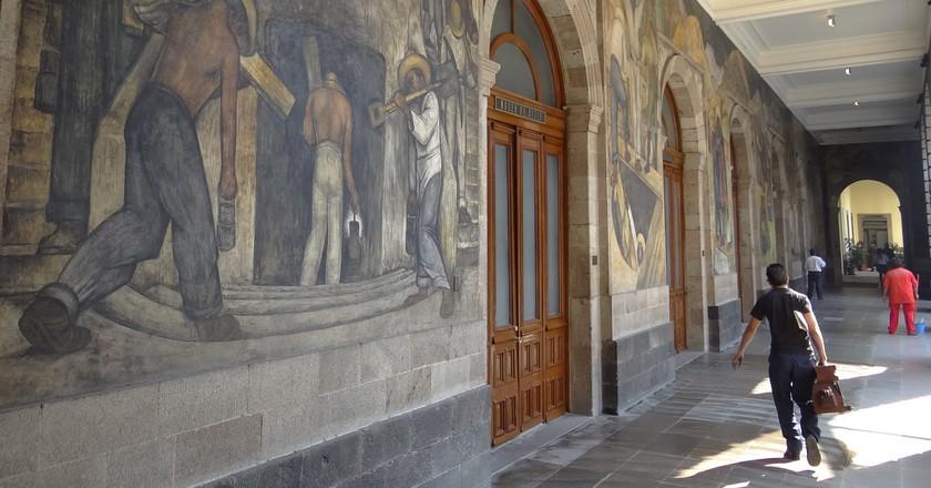 Diego Rivera murals - La Secretaria de Educación Pública   © Adam Jones/Flickr
