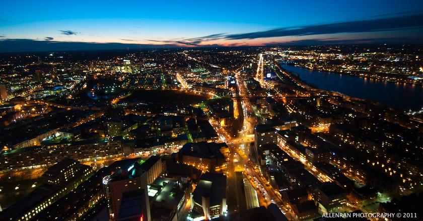 Boston by night | ©allenran 917/Flickr
