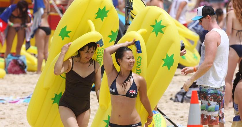 Havaianas 2012 Australia Day Thong Challenge | © Eva Rinaldi/Flickr