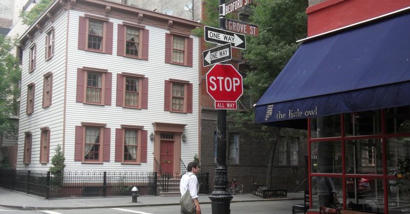 Rowhouse In Greenwich Village | © Eric Fischer/Flickr