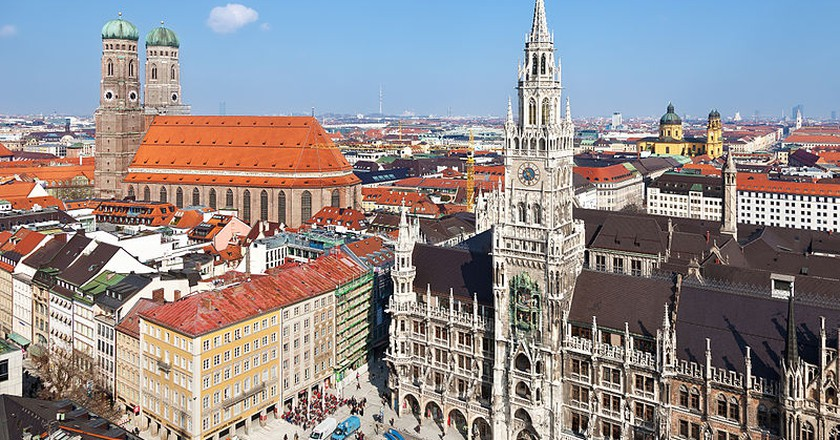 Marienplatz| © Thomas Wolf/WikiCommons