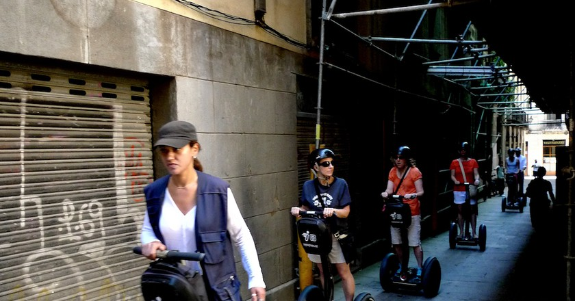 What Is The Future Of Barcelona's Segways?