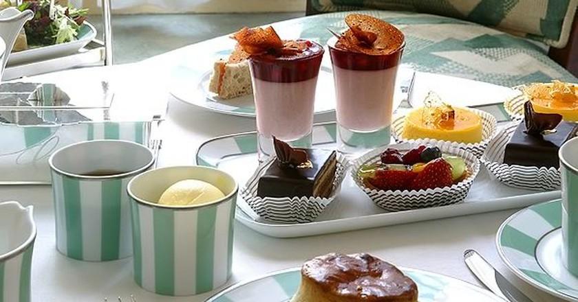 Afternoon tea at Claridge's, London|©FineDining Indian/Flickr