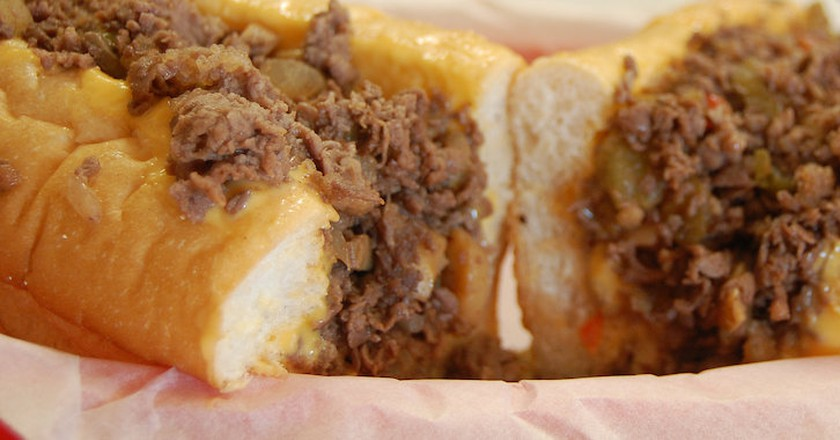 Cheesesteak | © stu_spivack/Flickr