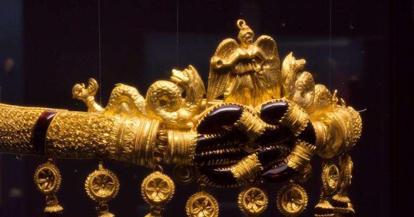 Ancient Greek jewelry 300BC | © Matthias Kabel/WikiCommons
