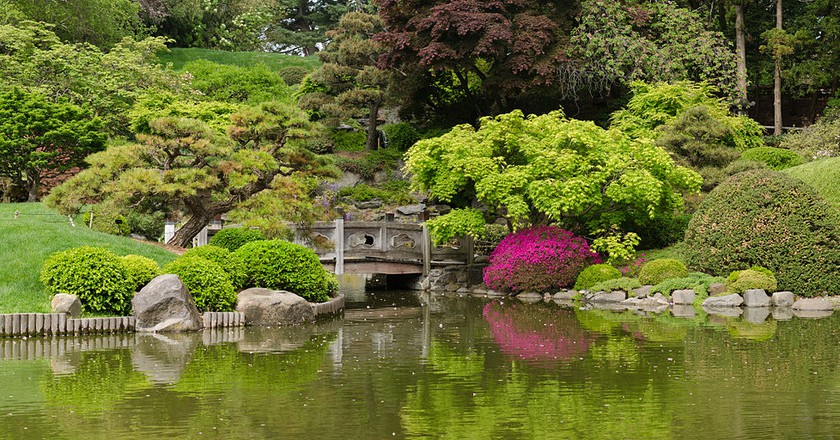 Brooklyn Botanic Garden New York May 2015 panorama l © King of Hearts