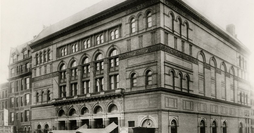 Carnegie Hall   © Gmaemejota/WikiCommons