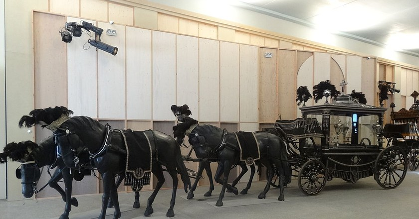 Discover Barcelona's Museum Of Funeral Carriages