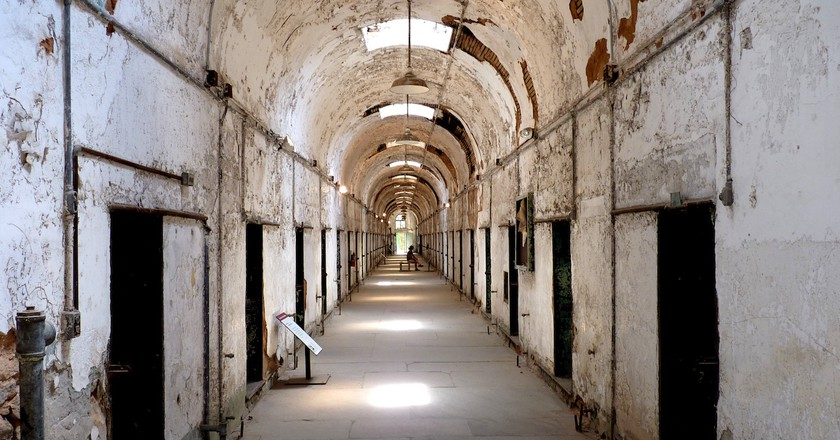 Eastern State Penitentiary, Cell blocks | © Dudva/Wikicommons