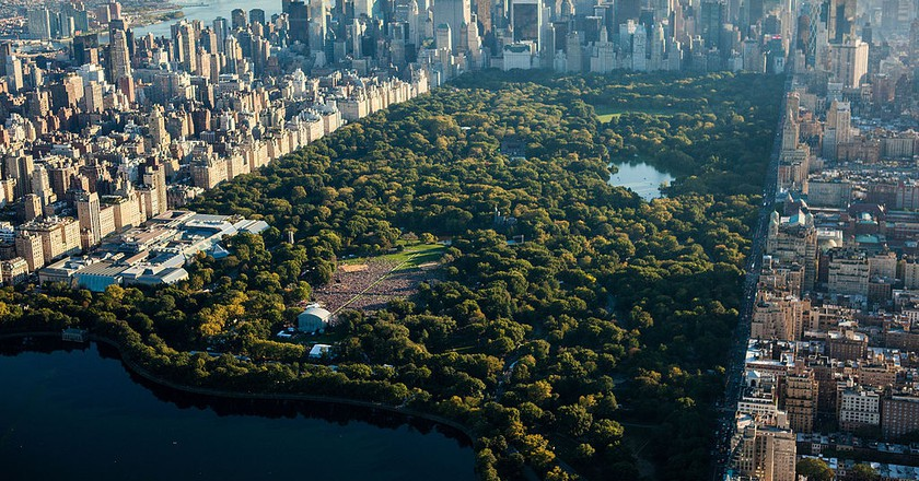 Global Citizen Festival Central Park New York City From NYonAir l © Anthony Quintano