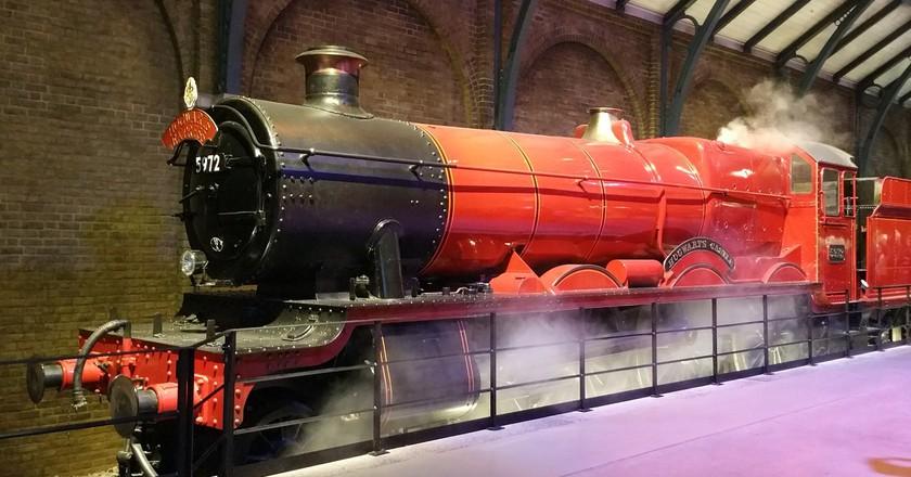 The Hogwarts Express| Pixabay