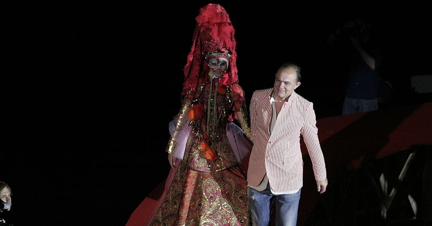 Christian Lacroix in 2008 © Florian Vincent/WikiCommons