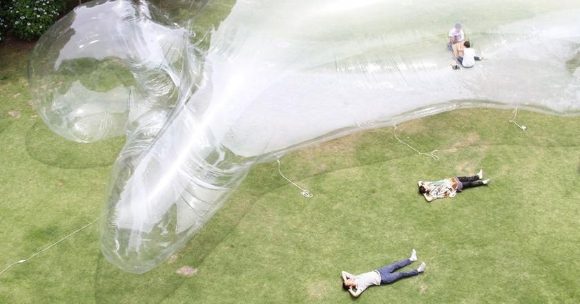 Large Sized Aerial Being| © Yasuhiro Suzuki