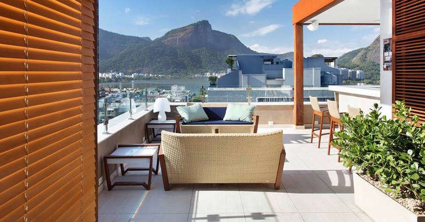 Mar Ipanema Hotel with views of Lagoa | courtesy of Mar Ipanema Hotel