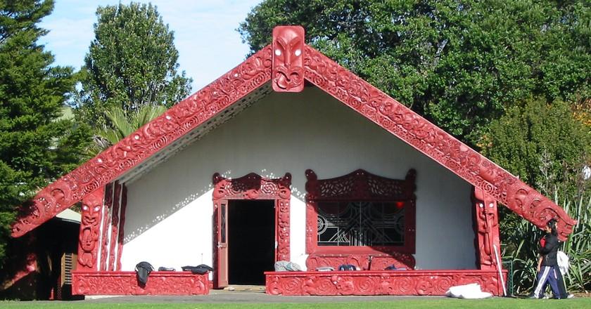 Waipapa marae at The University of Auckland | ©WikiCommons