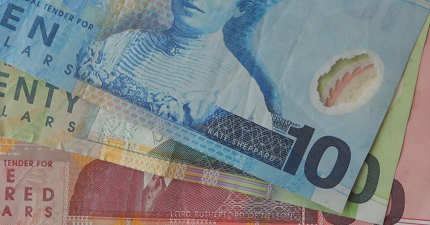 New Zealand bank-notes | © Kristina D.C. Hoeppner/Flickr