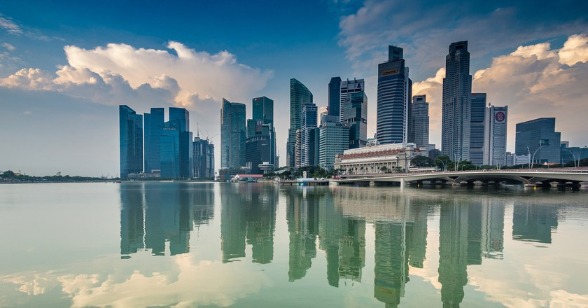 Singapore Skyline | © mammela/www.pixabay.com