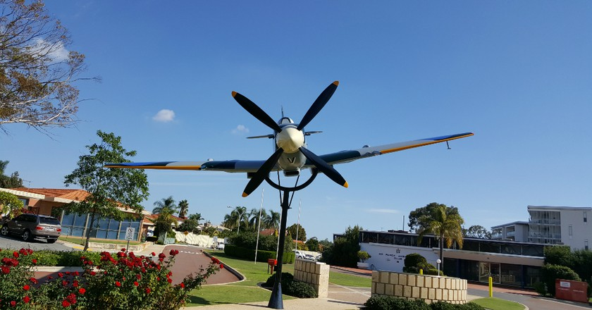Spitfire Memorial | Courtesy of Aviation Heritage Museum