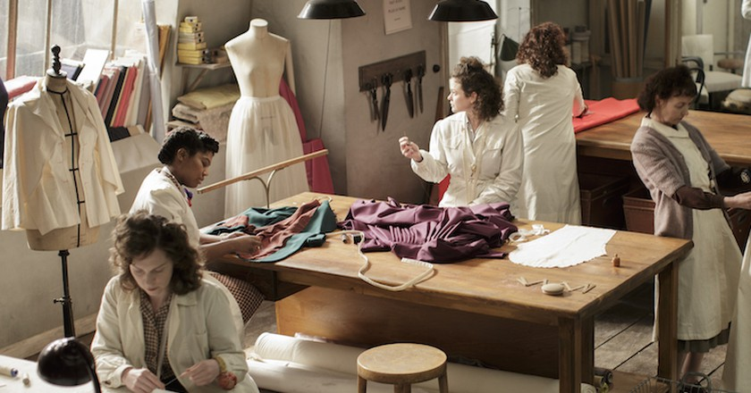 Picture shows: Scene from Episode 1 of 'The Collection'