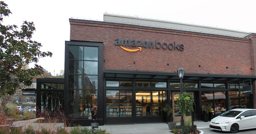 Seattle's Amazon Books | © SounderBruce/WikiCommons
