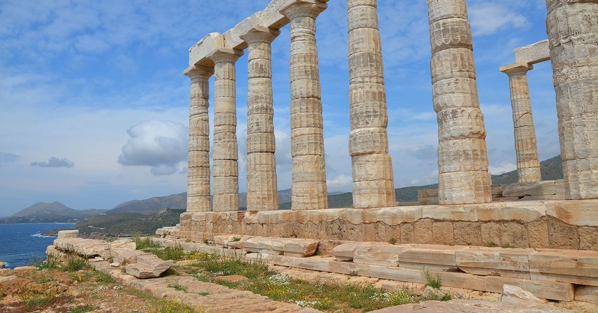 Temple Of Poseidon Cape Sounion Greece C Carole Raddato WikiCommons