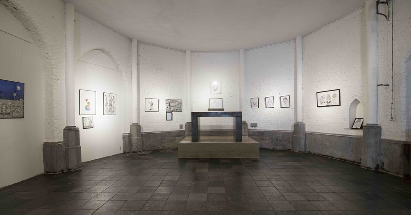 Mons likes to get original when it comes to galleries, with art exhibitions being hosted in old chapels and the tiniest of spaces | Courtesy of THANKSgalerie