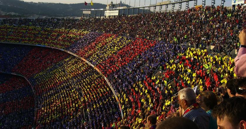 Camp Nou   © David Poblador i Garcia / Flickr